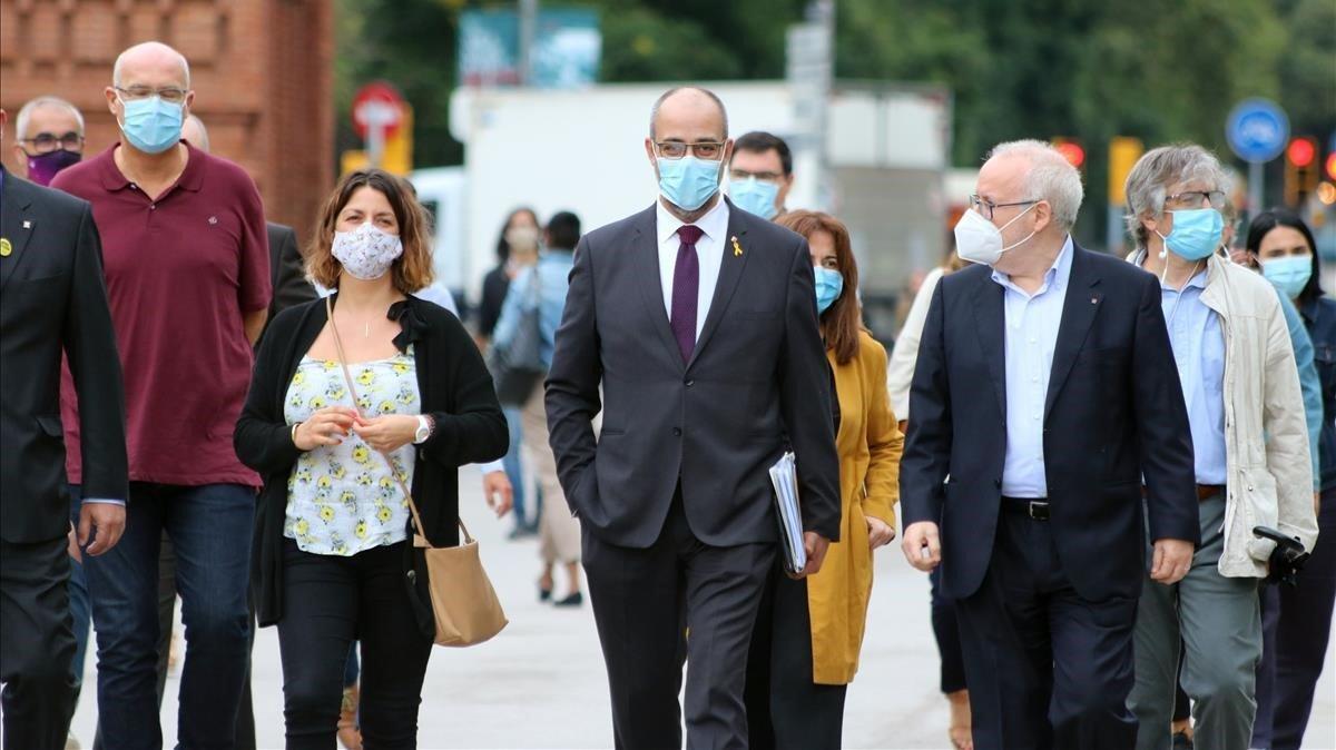 Buch niega que fichara de asesor a un mosso para la escolta de Puigdemont