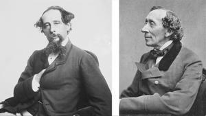 Charles Dickens y Hans Christian Andersen.