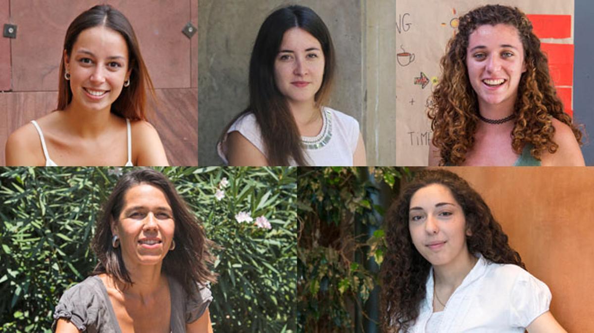 Cinco mujeres reflexionan sobre el acoso machista.