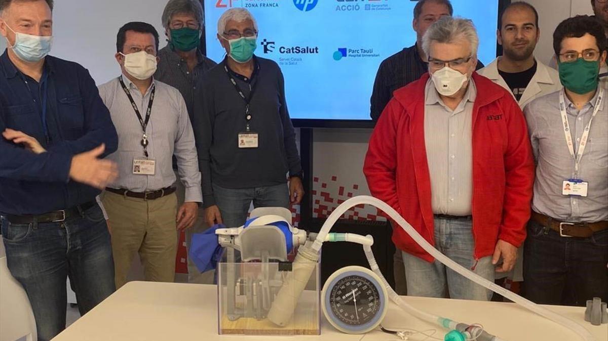 Un respirador 'made in Catalonia' començarà a produir-se aquest dilluns