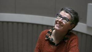 Anna Ballbona, ganadora del Premio Llibres Anagrama de Novel.la.