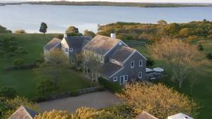 La mansión de Jackie Kennedy en Martha's Vineyard, a la venta.