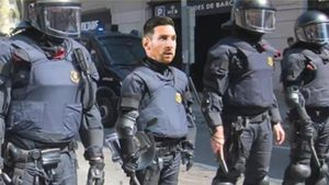 El Messi d'Esquadra de 'Late motiv' (M+).