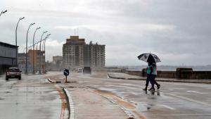 Eta salió de Cuba por las cercanías de la localidad de Punta Alegre.