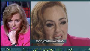 """María Teresa Campos rompe su silencio sobre Rocío Carrasco y sorprende con una revelación: """"Pedro Sánchez me pidió su teléfono"""""""