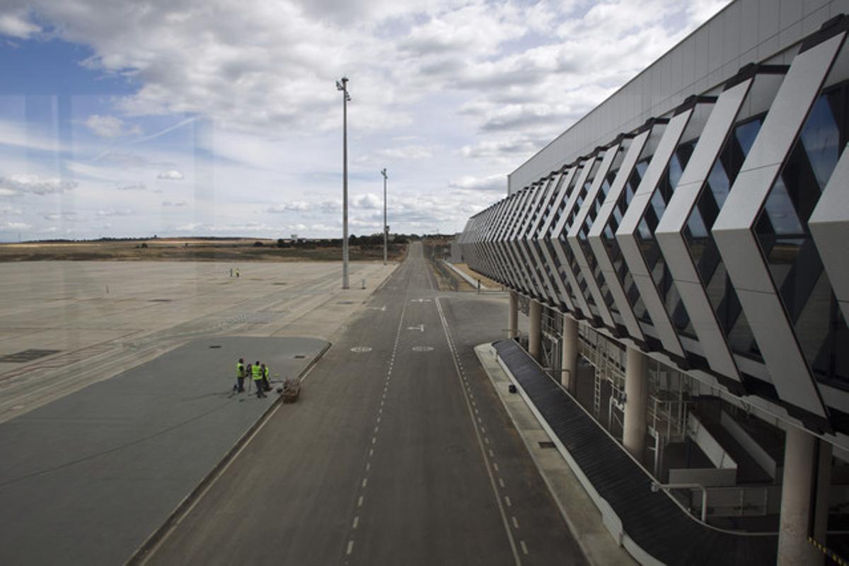 Vista del aeropuerto de Castellón, en una imagen de archivo.