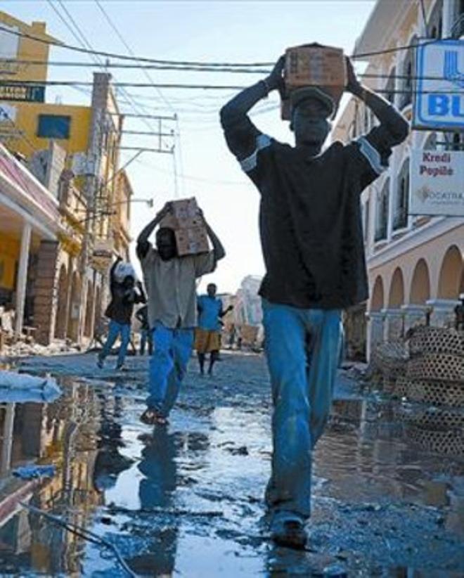 Calles de Puerto Príncipe.