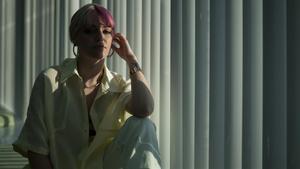 Barcelona 24 03 2021  Entrevista a la cantante Alba Reche en el Hotel Barcelo Sants  FOTOGRAFO SERGI CONESA