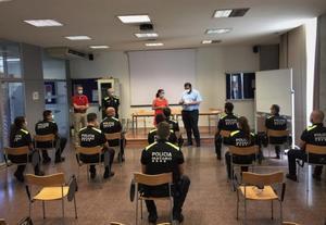 La Policía Local de Mataró incorpora 11 nuevos agentes.