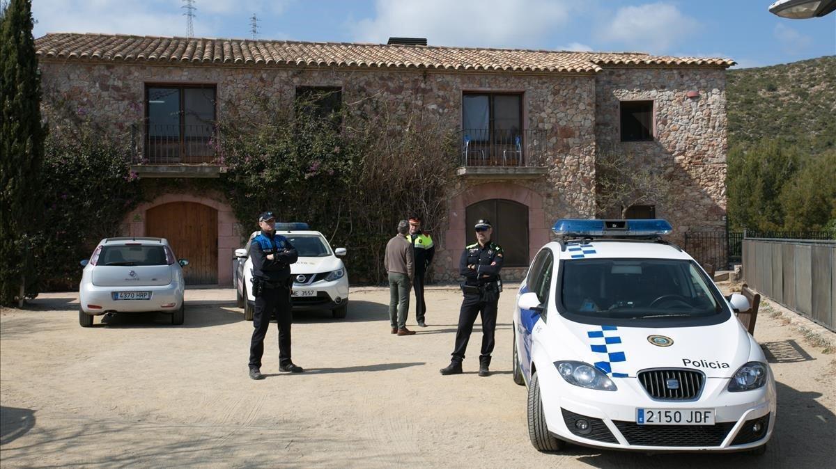Centro Cal Ganxo, de Castelldefels, donde un grupo de menores migrantes fueron víctimas de un ataque racista.