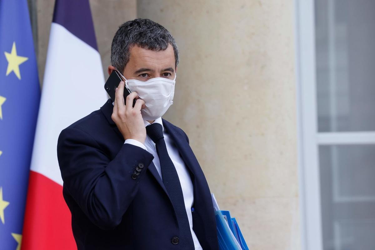 El ministro de Interior francés, Gerald Darmanin.