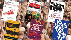 Libros centrados en el análisis del movimiento 15-M