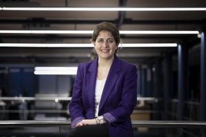 Marta Pascal , secretaria general del PNC y candidata a la presidencia de la Generalitat.