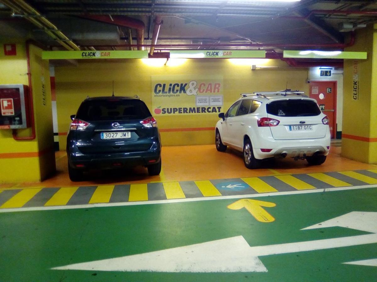 Servicio de entrega de compras en El Corte Inglés (Click&Car).