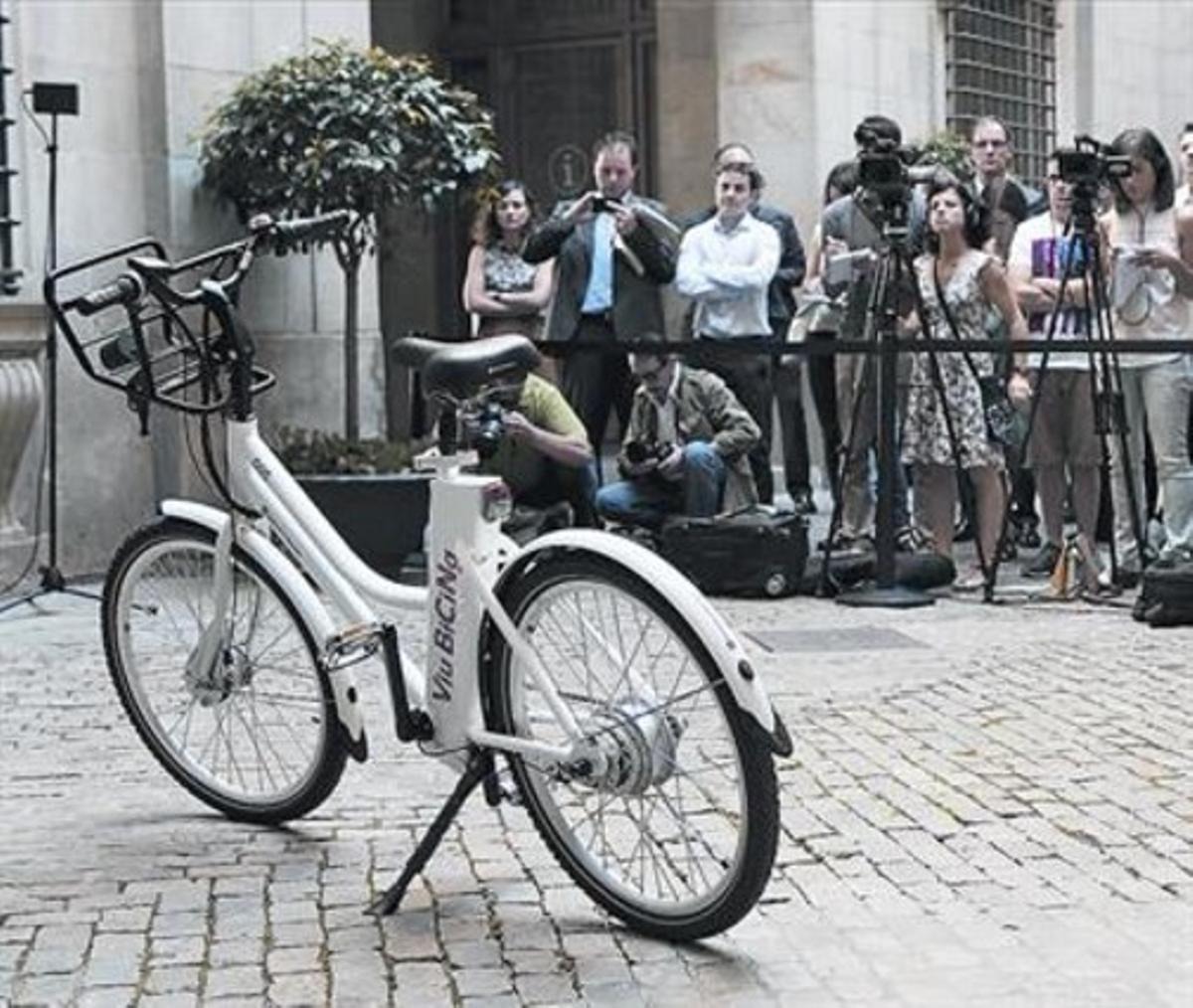 TODOTERRENO. Presentación de la bici, el pasado 16 de julio.