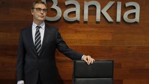 El consejero delegado de Bankia, José Sevilla, ayer en Madrid.
