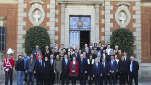 Recepción de los Premios Ondas en el Palacete Albéniz.