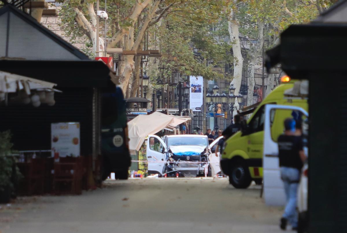 La furgoneta de l'atemptat de les Rambles era per atacar el Camp Nou