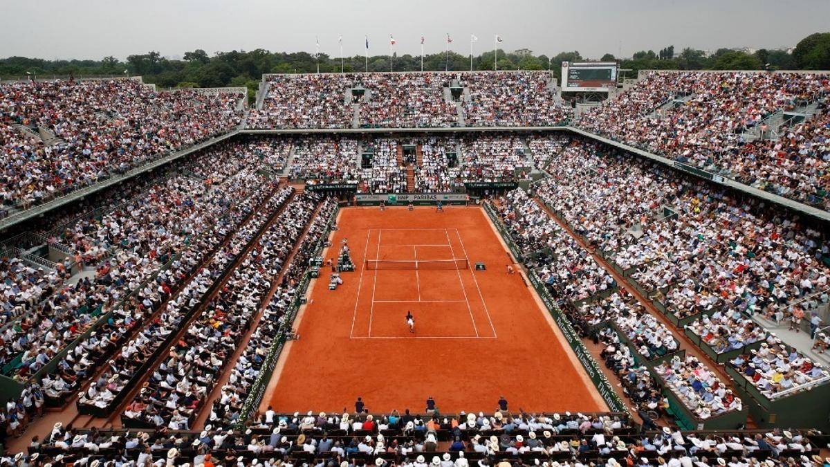 Este año habrá más entradas para ver en directo el Roland Garros.