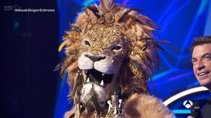 Este león era Georgina Rodríguez (A-3).