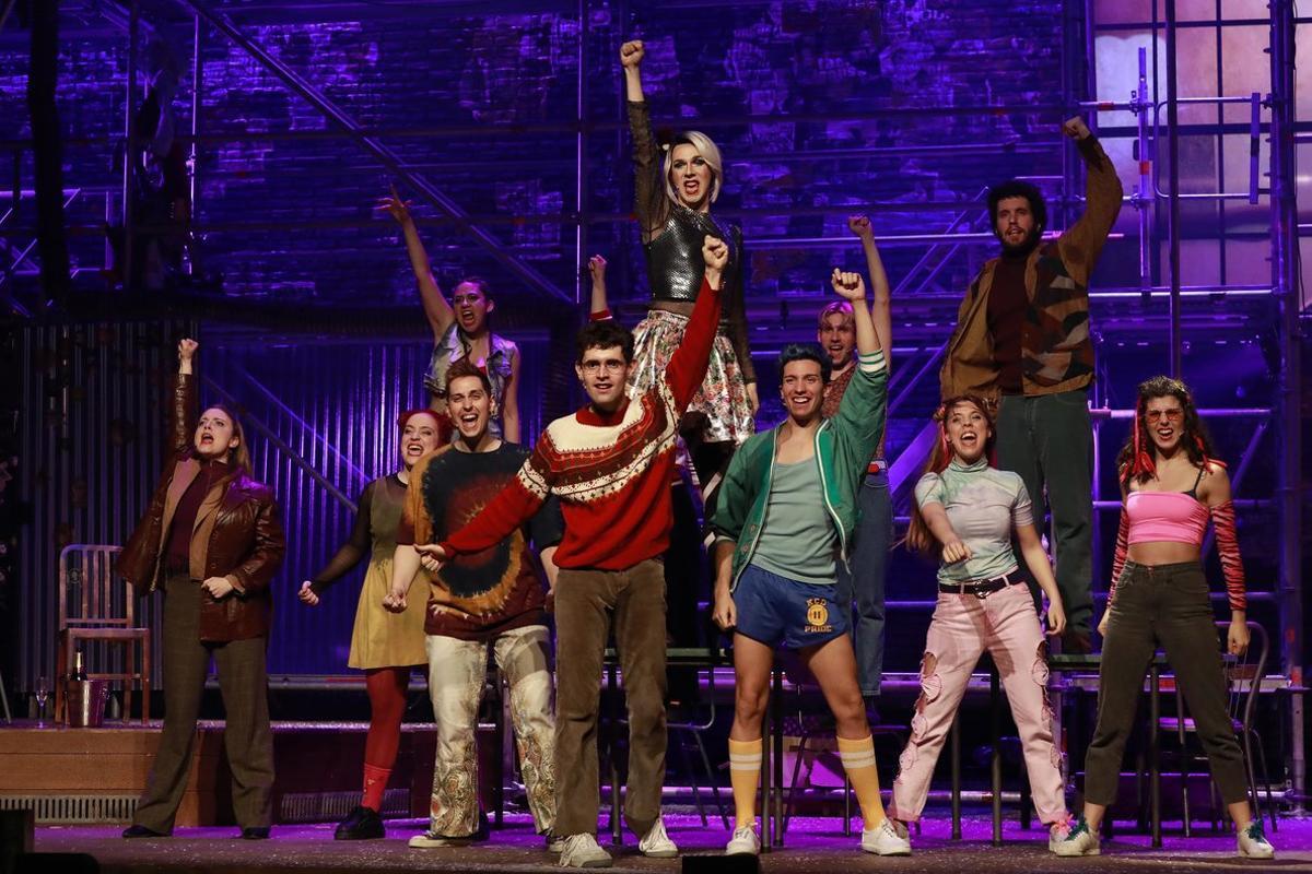 El musical 'Rent', en el Teatre Condal.