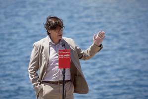 Salvador Illa, en un acto del PSC en Palamós