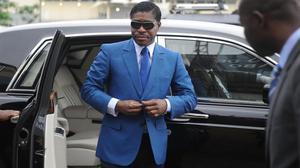 TeodoroNguema Obiang Mongue, Teodorín, en una foto del 2013 en Malabo.