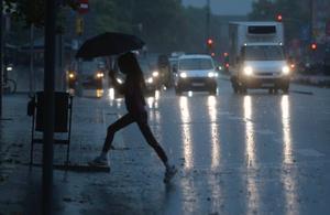 Lluvia en el sistema ibérico, norte de Valencia y sur de Catalunya.