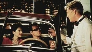 David Lynch, en el rodaje de 'Mulholland Drive'.