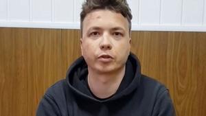 Bielorússia difon un vídeo del periodista Protassévitx confessant