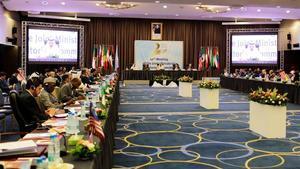 Reunión de la OPEP en Algeria en septiembre del año pasado.