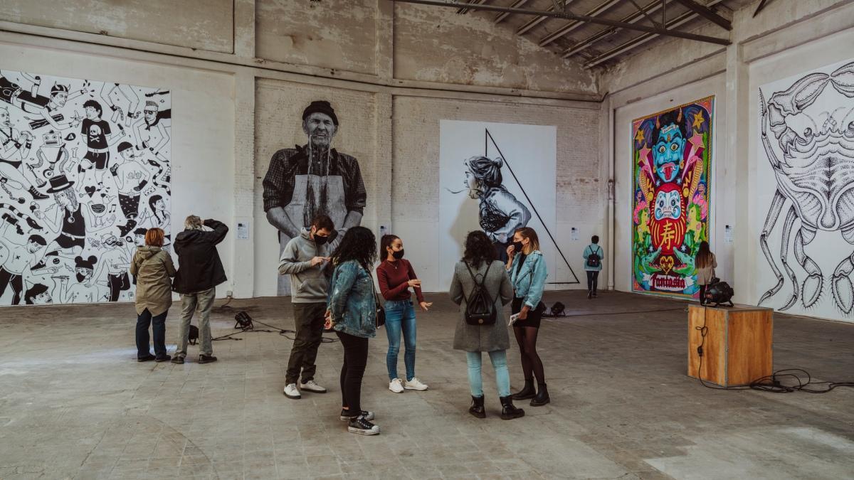 Poblenou Open Day, una jornada para descubrir la obra y los estudios de los artistas.