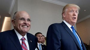 Rudolph Giuliani con Donald Trump.