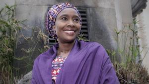 La activista y abogada nigeriana Fátima Imam en Barcelona.