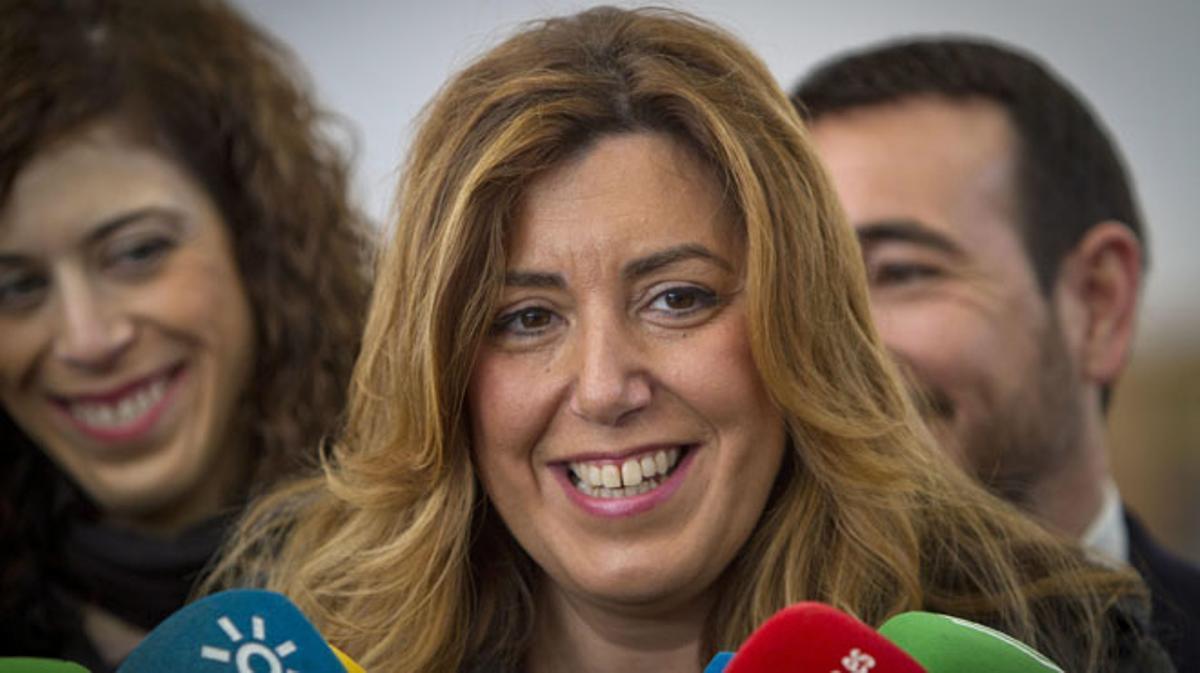 Susana Díaz asegura que su embarazo no alterará el calendario electoral.