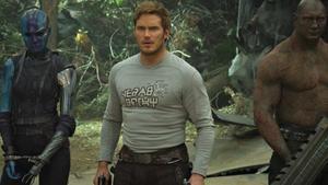Chris Pratt, en un fotograma de 'Guardianes de la galaxia Vol 2'