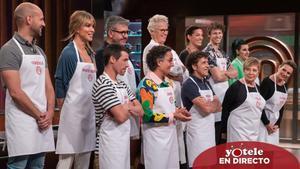 Concursantes de la quinta temporada de 'MasterChef Celebrity'.