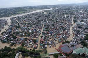 Inundaciones en Filipinas.