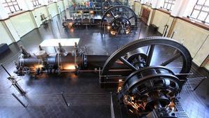 Imagen del interior delMuseu de les Aigües