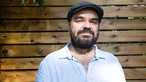 El director Xavier Gens, tras la presentación en Sitges de 'La pell freda'