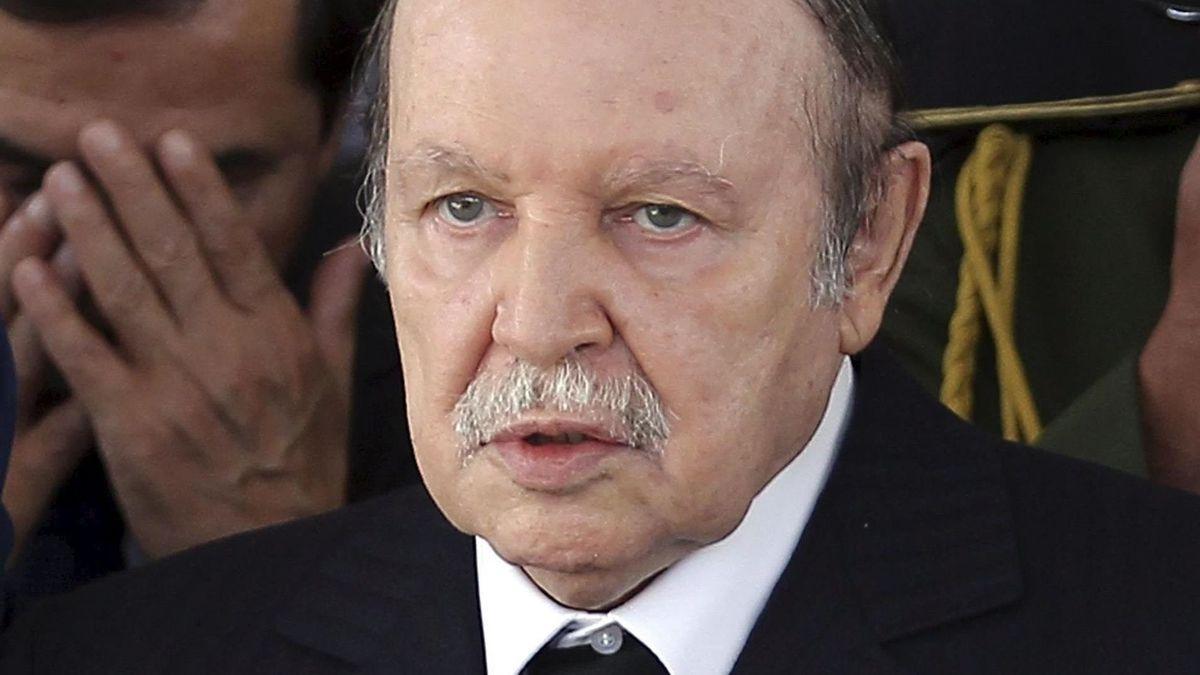 El expresidente argelino Abdelaziz Bouteflika.