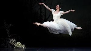 Un momento de la representación de 'Giselle' en Peralada.