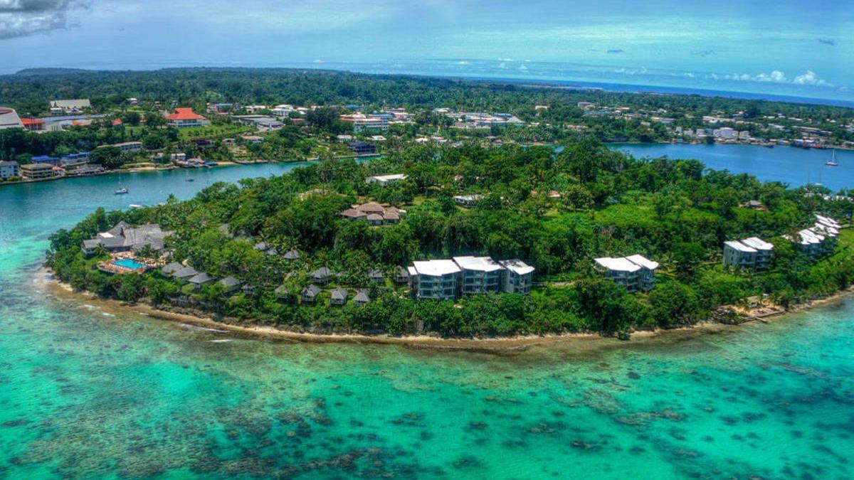 La República de Vanuatu es un conjunto de 83 islas, de las cuales apenas un tercio están habitadas.