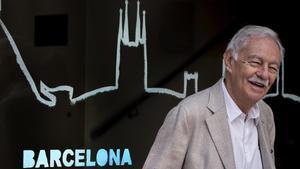 Eduardo Mendoza, este martes durante la presentación de la novela 'El rey recibe'.