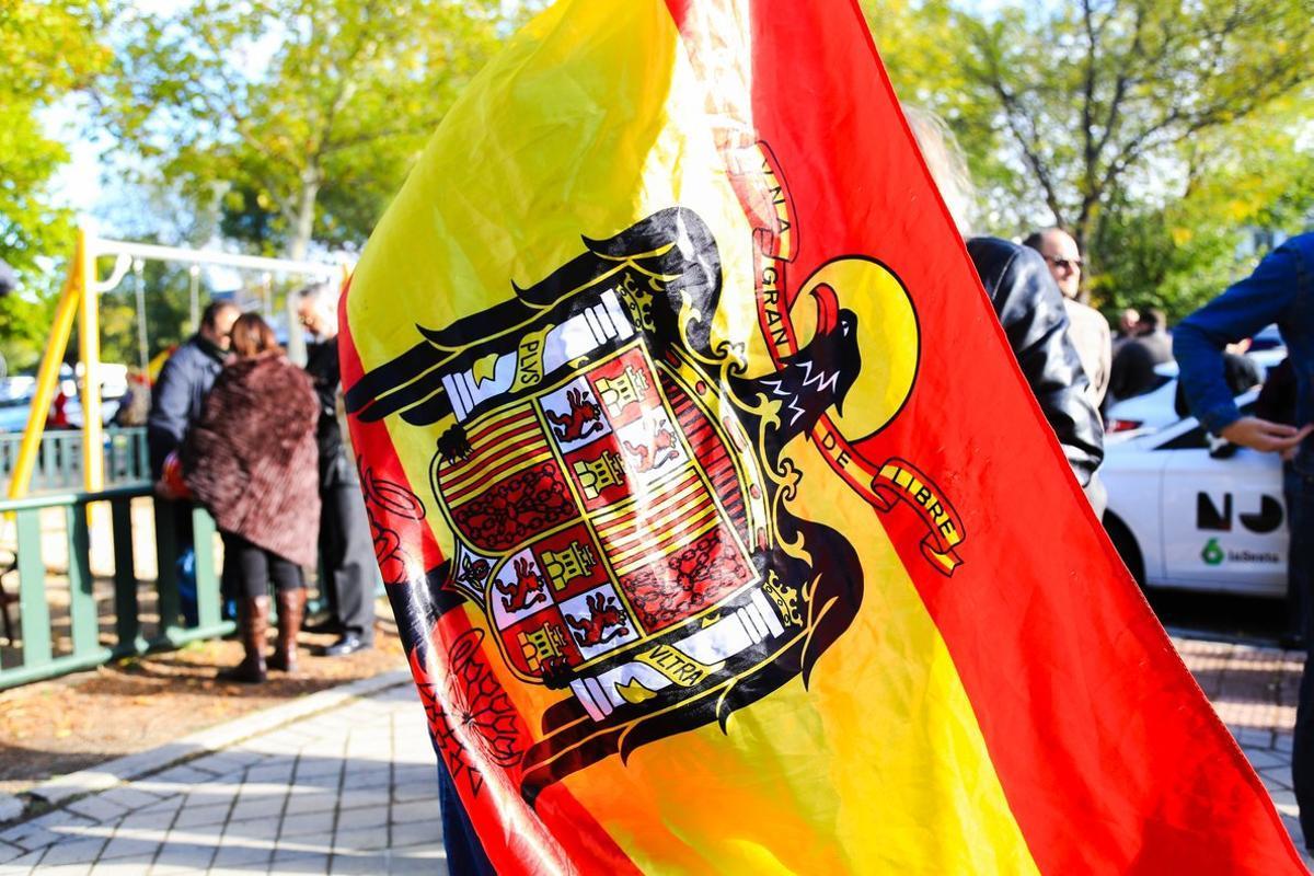 Bandera franquista.