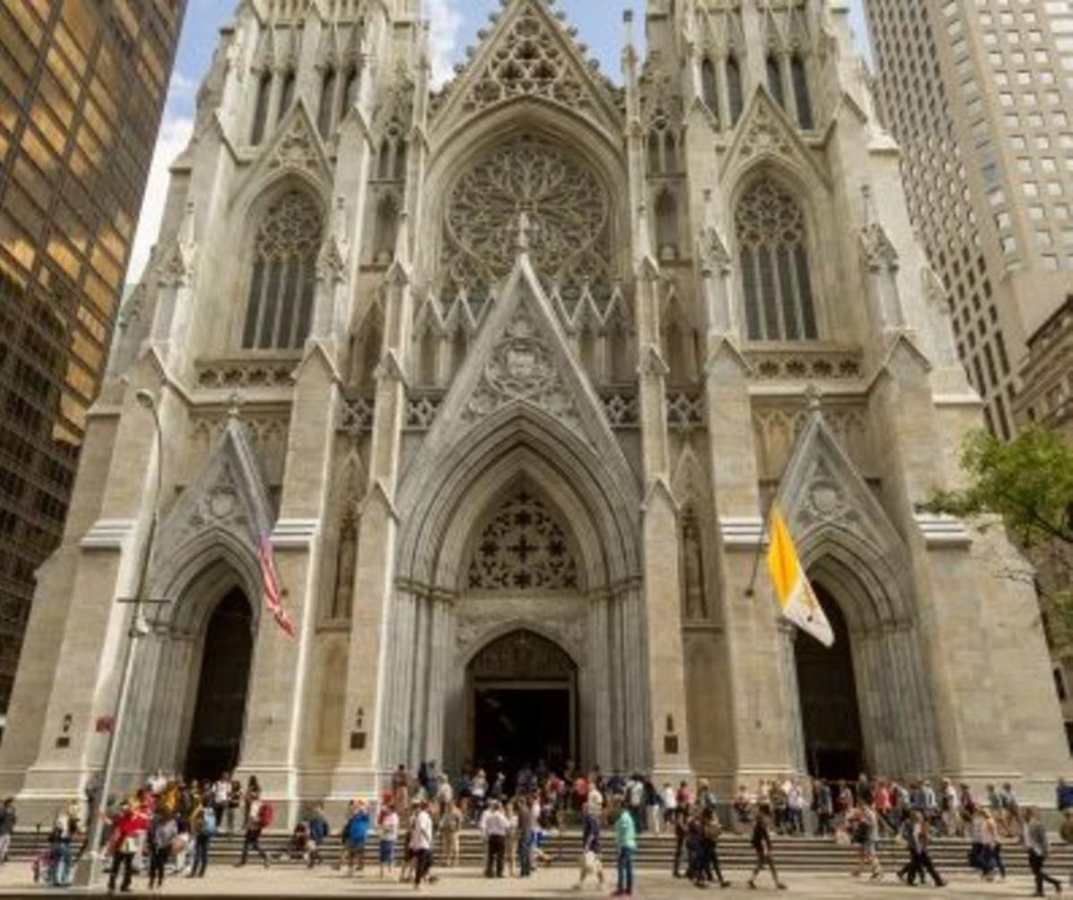 La catedral de Saint Patrick en Nueva York.