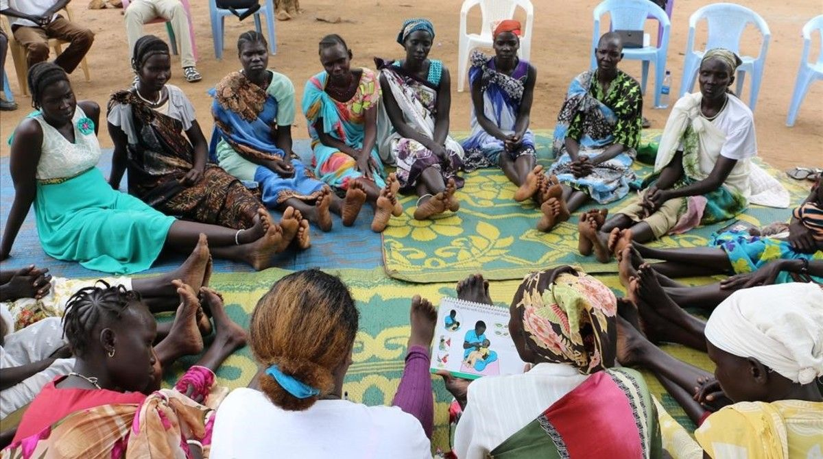 Proyecto innovador para mejorar las condiciones de los niños refugiados en Etiopía