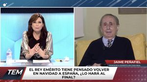 """Tremendo ataque de Jaime Peñafiel a Pablo Iglesias en defensa del Rey emérito: """"Es un sinvergüenza"""""""