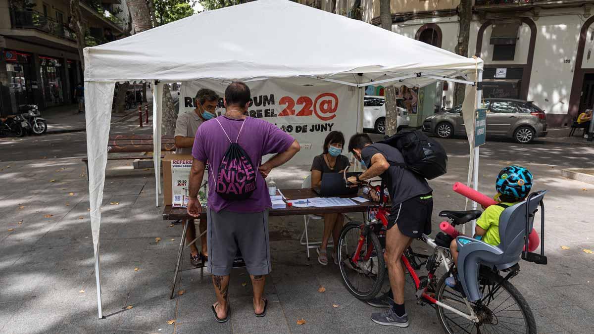 Sant Martí vota per un 22@ de la gent