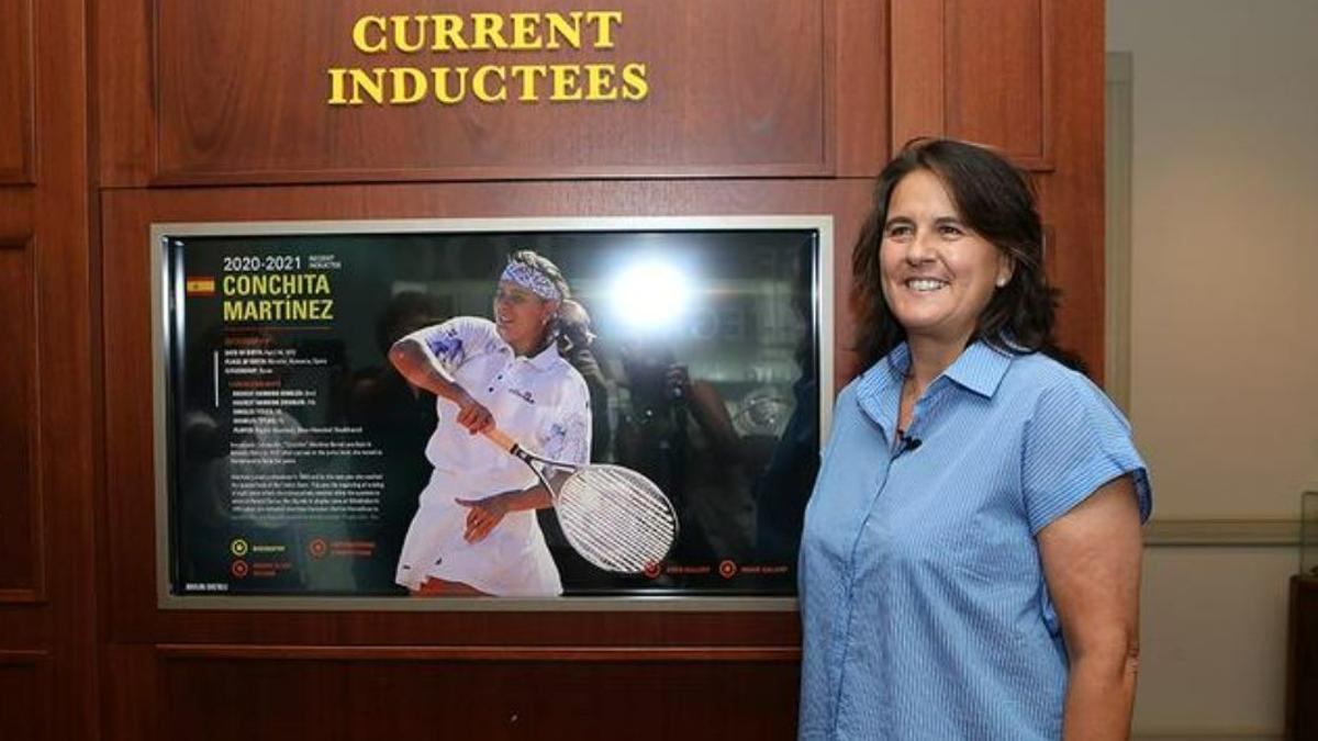 Conchita entra al Saló de la Fama del Tennis